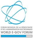 Logo du World egov forum
